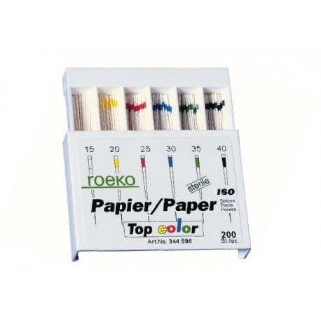 Pointes papier top color