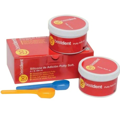 Silicone par addition putty